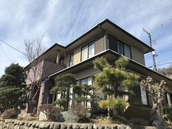 相模原市 緑区 K様邸 外壁塗装、屋根塗装、バルコニー防水工事