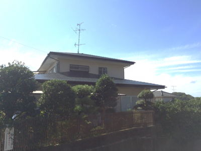 横浜市神奈川区 S邸 屋根及び木部塗装工事・ベランダ防水工事