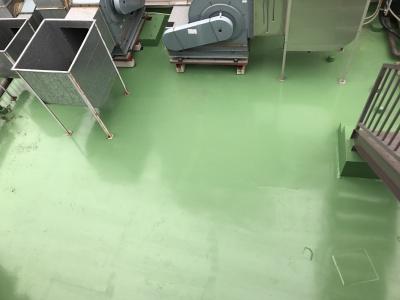 横浜市中区 Sビル 屋上防水工事