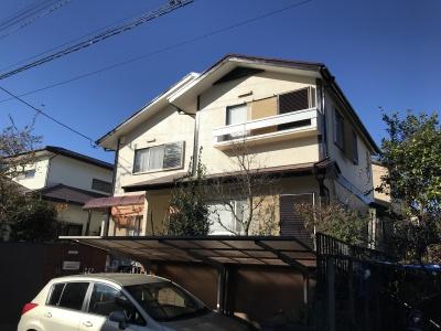 横浜市保土ヶ谷区 K邸外壁・屋根他塗装工事