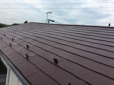 横浜市瀬谷区 N様邸屋根塗装工事他 施工完了