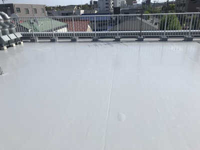 横浜市保土ヶ谷区 Sビル屋上防水工事 施工完了