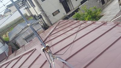 横浜市神奈川区 K邸様 屋根塗替え工事 施工完了