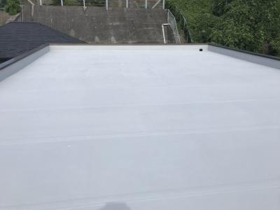 横浜市港南区 Nビル 鉄部塗装工事及び防水工事  施工完了