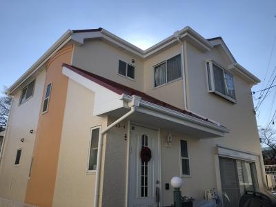 横浜市中区 A様邸外壁・屋根塗替え工事  施工完了