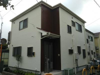 東京都 N様邸外壁塗装工事  施工完了