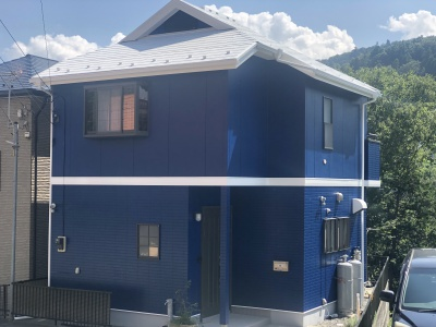 相模原市 K様邸 外壁塗装工事 施工完了