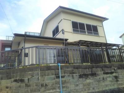 横浜市 A様邸 外壁・屋根塗替え工事 施工完了