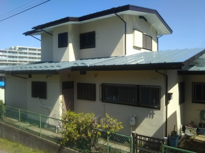 横浜市 小山様邸 外壁・屋根塗替え工事 施工完了
