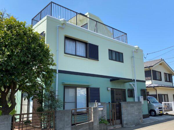 横浜市 O様邸 外壁修繕工事 施工完了